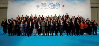 Group photo of participants at the Private Sector Forum in Antalya, Turkey