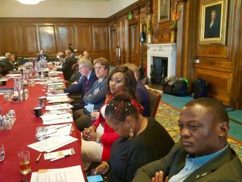 Partial view of participants at the UK-Liberia Investment Outreach